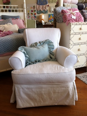 cottage chic upholstery furniture slipcovered furniture rh cottagechicstore com shabby chic slipcovers for recliners shabby chic slipcovers