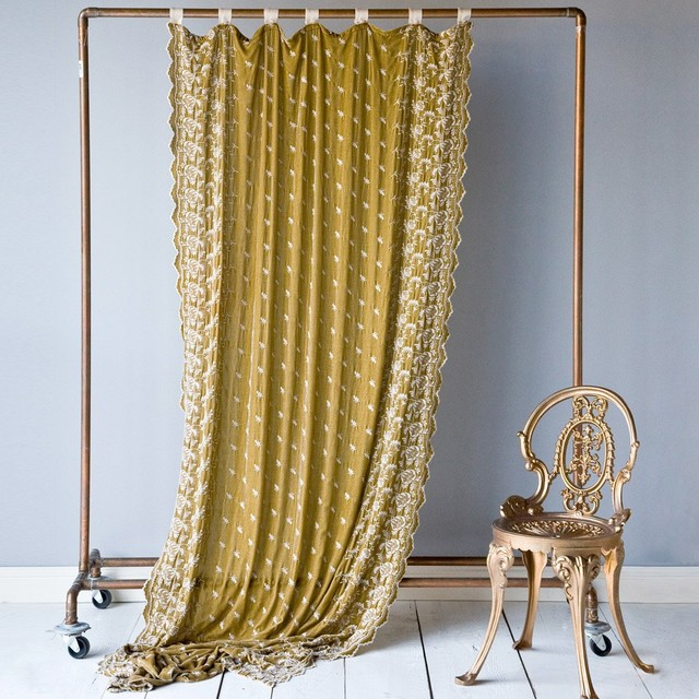 Cottage Chic All Curtain Panels