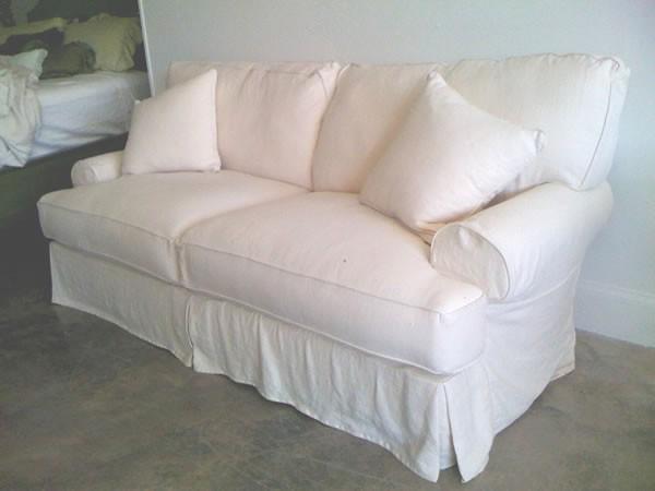 shabby chic sofa comfy upholstered. Black Bedroom Furniture Sets. Home Design Ideas