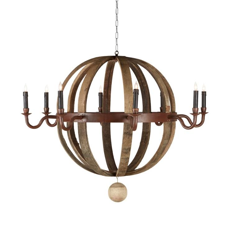 wine citrineliving barrel chandelier chandeliers