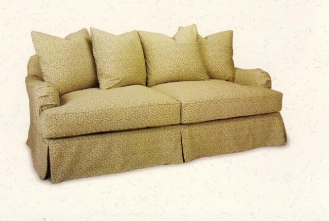 Genoa Sofa Slipcoverd