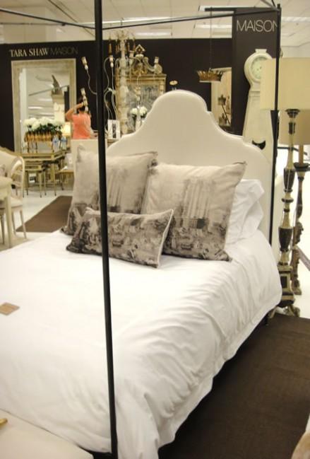 Tara Shaw Iron Canopy Bed