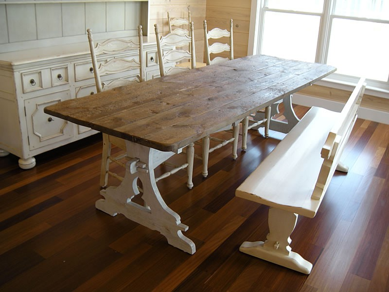 french country furniture dining tables cassis. Black Bedroom Furniture Sets. Home Design Ideas