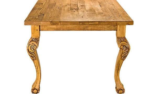 French Country Furniture Dining Tables Unfinished