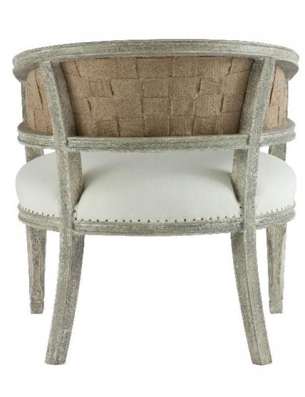 Swedish Demi Lune Chair
