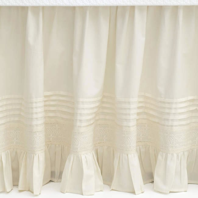 Cottage Chic Pine Cone Hill Bedding Bedskirts