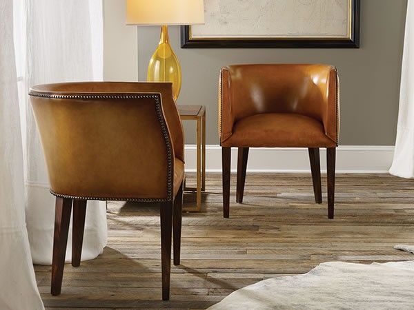 Continental Leather Barrel Chair Continental Leather Barrel Chair Click For  A Detailed View