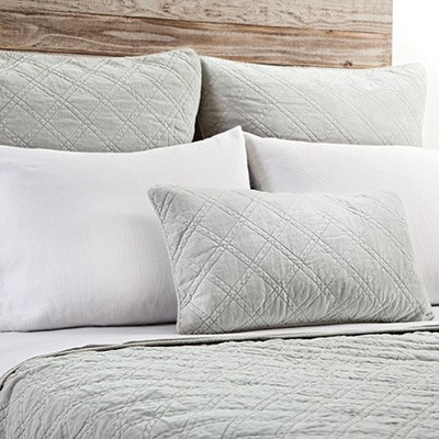 Brussels Coverlet Embroidery Pom Pom Bedding