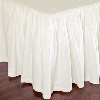 Pom Pom At Home Bedskirt Gathered Linen