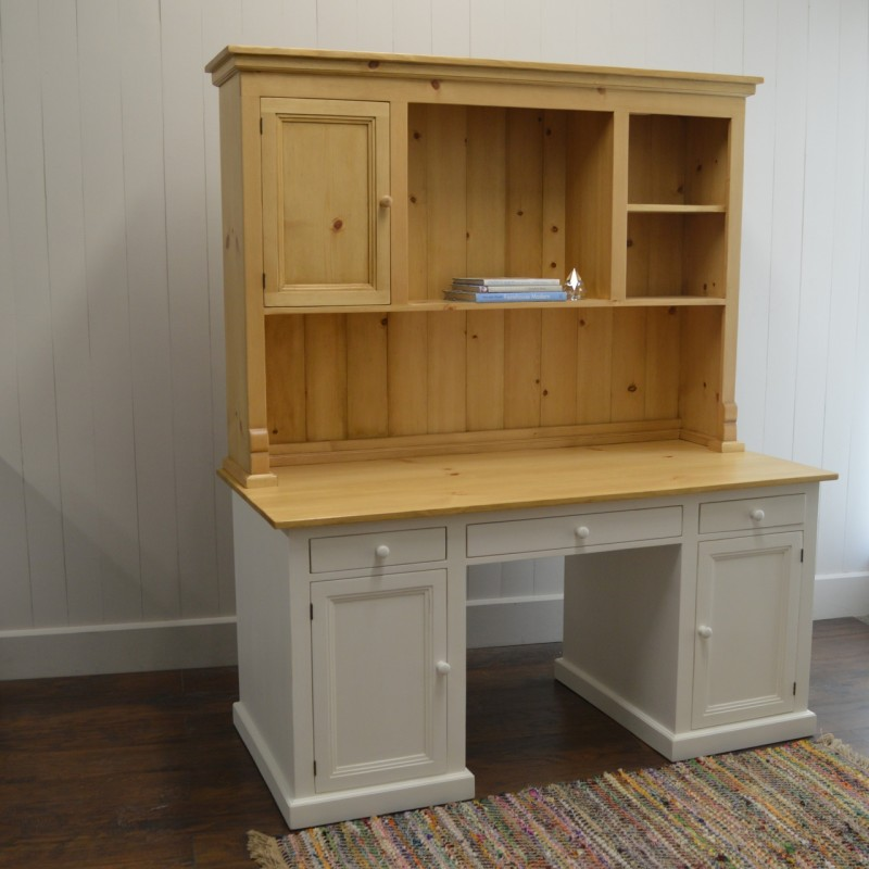 Custom Furniture Kitchen Desk And Hutch