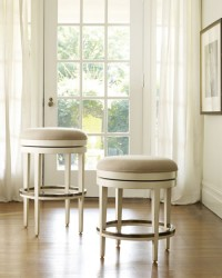 Somerset Bay Carmel Backless Stool
