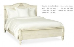 Cottage Furniture Classic Shell Bed Luxe