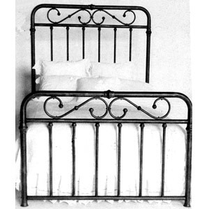 Iron Bed 39