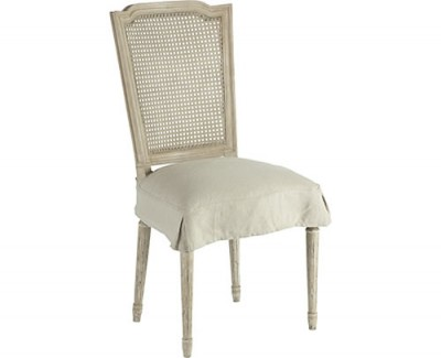 Alex Dining Chair w/slipcover - Parker Grey