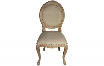 Isabelle Dining, Side Chair, Grey Wash