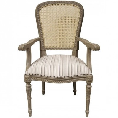Ivette Arm Chair, Weathered Grey