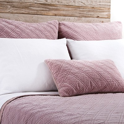 Pom Pom at Home Brussels Coverlets, Lilac
