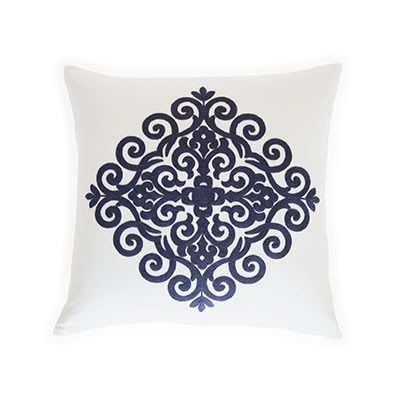 Pom Pom at Home Catalina Decorative Pillow, Navy