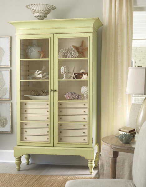 Cottage Chic Armoires & Cabinets